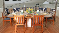 GALE WINDS - Aft Deck Dining