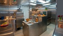 GLOBAL Yacht - Galley