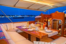 GLORIA Sailing yacht - Alfresco dining