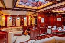 GLORIA Sailing yacht - Salon
