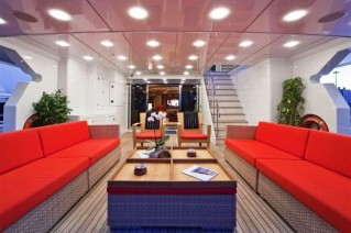 GOLDEN HORN -  Aft Deck Seating