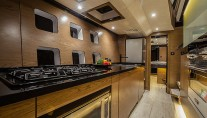 GRACE Yacht - Galley