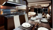 Galeon-780-Crystal-motoryacht-Queen Ekatierina Main-deck-dining-area-and-galley-001