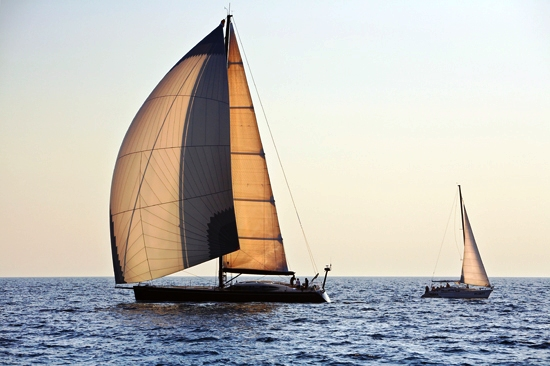Sailing yacht Geometry