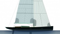 German Frers 88ft Tulip by K&M Yachtbuilders
