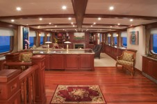 Golf Charter Yacht Stargazer -  Main Salon