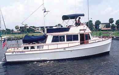 Grand Banks 42 Trawler
