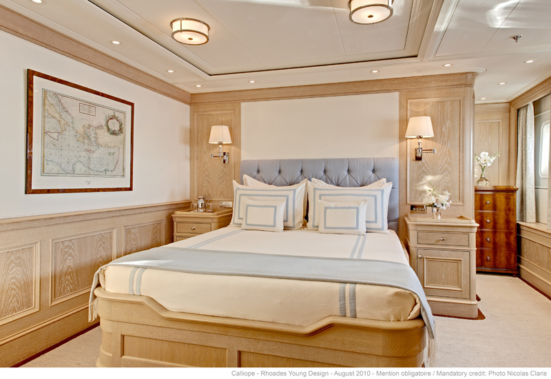 Guest Cabin on the motor yacht Calliope