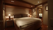 Guest Queen Bedroom SY Exuma -  photo  courtesy of Perini Navi