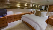 Guest Stateroom on board the luxury yacht Sea Bear