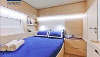 Guest cabin - Superyacht Hevea
