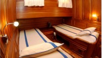Gulet Blue Capricorn -  Twin Cabin