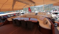 Gulet CARPE DIEM V -  Aft Deck Seating