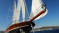Gulet CARPE DIEM V -  Forward View Sailing