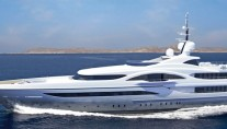 H2 designed 72 m Proteksan Turquise Yacht VICKY