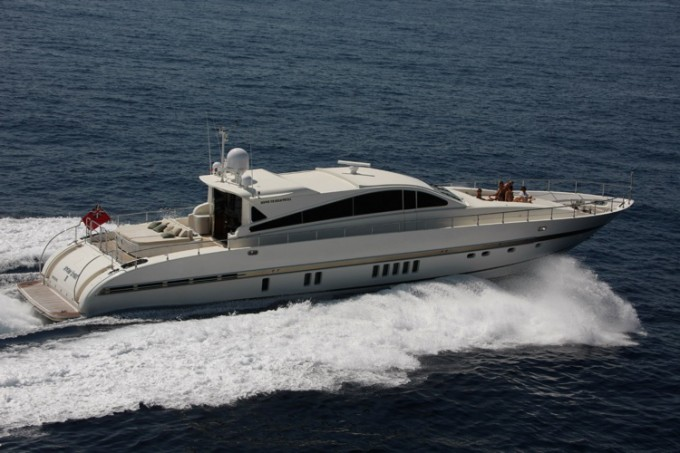 Motor yacht HARD WORK II