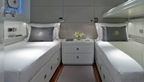 Heavenly Daze Yacht - Twin Cabin - Image coutesy of Pendennis