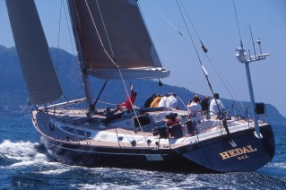 Hedal yacht - now called FAR II KIND