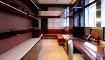 Heesen SKY superyacht with interior by Mojo-Stumer Associates - Owners Office