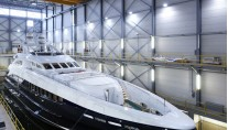 Heesen Super Yacht Lady L ex Project Zentric successfully launched on January 13th