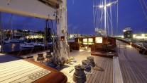 Hetairos by night  - photo Baltic Yachts