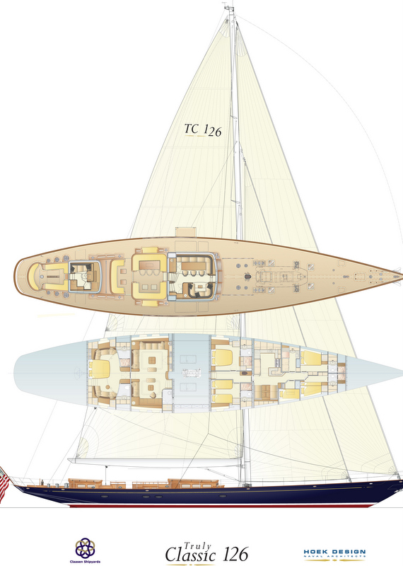Sailing Yacht TC126