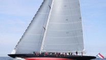 Holland Jachtbouw sailing yacht Rainbow under sail