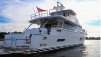Horizon V80 Yacht The One - aft view