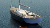 Hull 1012 superyacht - aft view