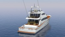 Hull 1015 Yacht - aft view