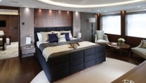 Hull No. 1 luxury yacht Imperial Princess - Owners Suite