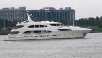 IAG127 Superyacht PRIMADONNA at her Sea Trials - Photo Credit IAG Yachts