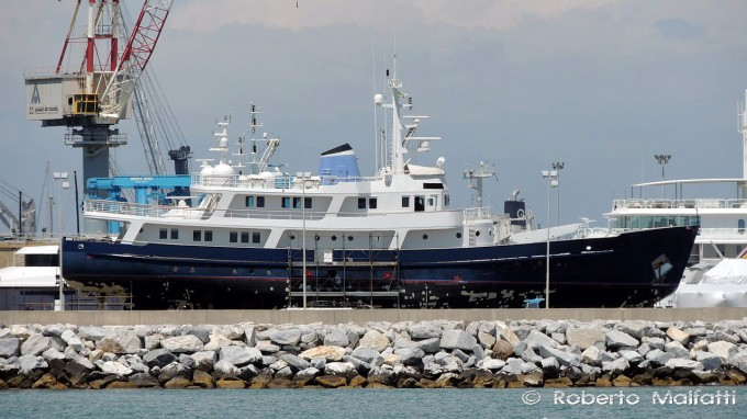 Conversion Expedition Yacht ICE LADY (ex Ice Lady Patagonia)