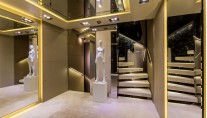 ICON 68M Superyacht - Guest foyer