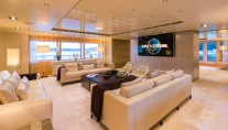 ICON 68M Superyacht - Salon view