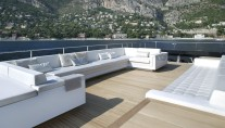 ICON superyacht aft relaxation area