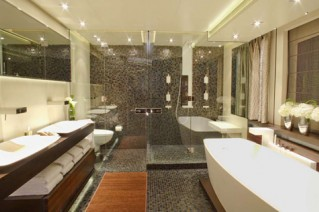 master bathroom image gallery - luxury yacht gallery browser
