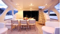 IRDODE - Aft deck by night