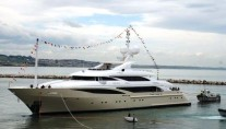 ISA 630 MotorYacht at Launch March 2010