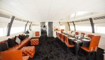 ISA Motor yacht SAMJA - Formal dining and seating