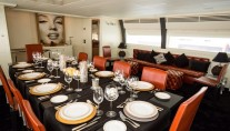 ISA Motor yacht SAMJA - Formal dining