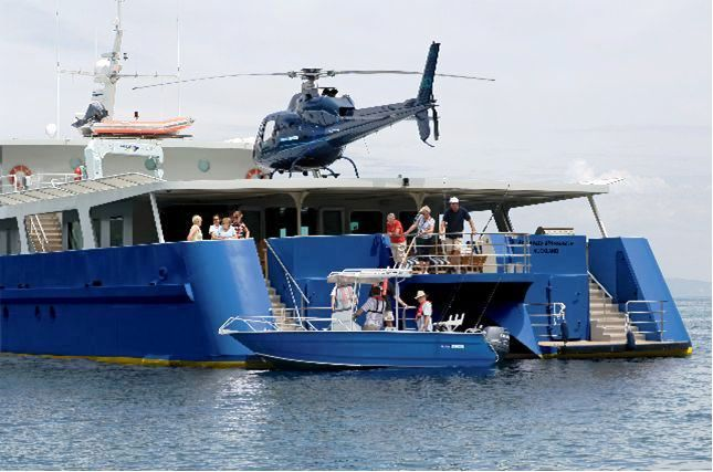 ISLAND PASSAGE -  Helicopter