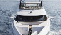 Illusion V Yacht - front view