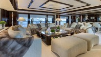 Illusion V superyacht - Saloon