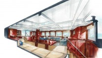 Imagination superyacht - Saloon