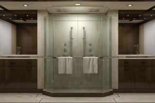 Inace 120 superyacht Owner bathroom
