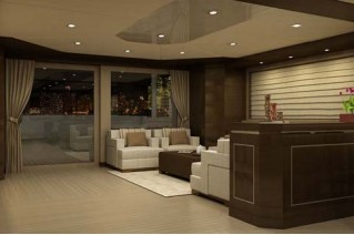Inace 120 superyacht interior