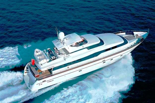Motor yacht�INDULGENCE OF POOLE