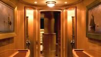 Interior details of the sailing yacht Marie - Image credit Tom Nitsch Image