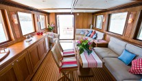 Interior of the Motor Yacht Aroona